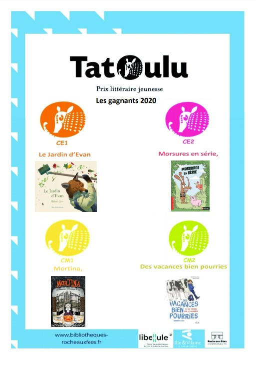 gagnants Tatoulu primaire