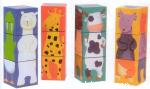 12 [douze] cubes animaux couleurs